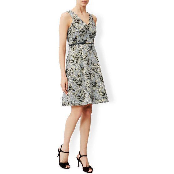 Monsoon Ilana Jaquard Dress Size 16 BNWT