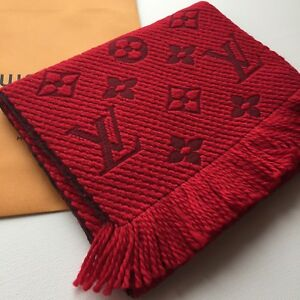8d562a1257b12 Image is loading NWT-LOUIS-VUITTON-AUTHENTIC-MONOGRAM-LOGOMANIA-M72432-RED-