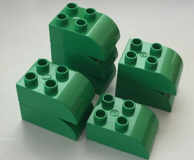 *NEW* 10 Pieces Lego Duplo DARK PINK Plant 1 Stud