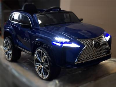 Lexus Remote Start >> Br New 12v Lexus Nx Suv Electric Battery Kids Ride On Cars Remote Control Blue Ebay