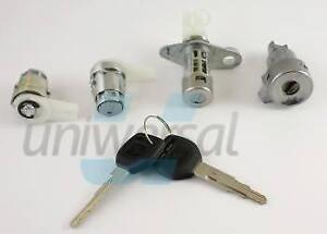 Lock-set-for-HONDA-CIVIC-1991-1995-3-D-2-door-lock-cylinder-ignition-trunk