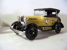 CHERRY Jim Beam Yellow 1929 Ford Model A Phaeton Police Car Decanter
