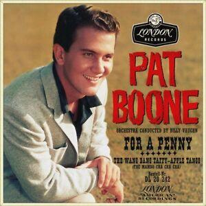 7-034-PAT-BOONE-For-A-Penny-Wang-Tang-Taffy-Apple-Tango-BILLY-VAUGHN-LONDON-1959