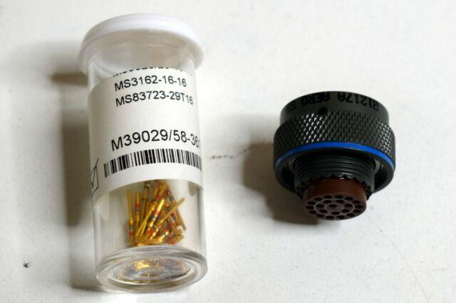 Amphenol Part Number MS27497T12B35SA