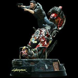 CYBERPUNK 2077 COLLECTOR'S STATUE ONLY IN HAND READY TO SHIP NO BOX