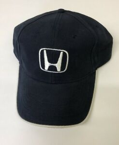 Honda Driving Hat   Cap Black Sliver New with out tags Adjustable  af45abcf0f29
