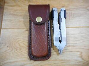 Gerber MP600 custom Brown leather sheath. Sheath only..
