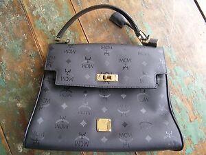 7239f8656efc Vintage Estate Piece MCM Munchen Kelly Bag 100% Authentic Purse