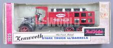 ERTL 1925 KENWORTH STAKE TRUCK W/ BARRELS True Value  Die Cast Bank    #S2