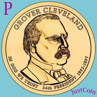 First Term Presidential Dollar Roll 2012-P Grover Cleveland