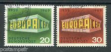 ALLEMAGNE FEDERALE, RFA, 1969, timbres 446/447, EUROPA, oblitérés