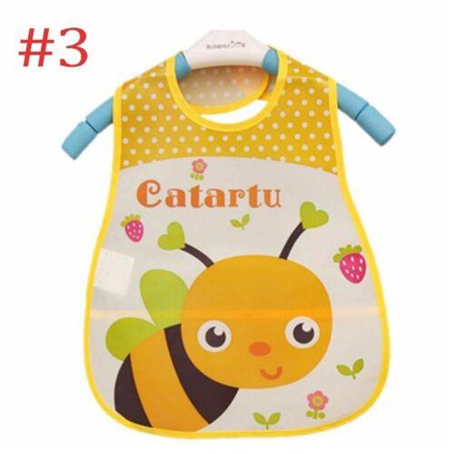 Feeding Translucent Saliva Soft Cartoon Kids Waterproof Bibs Baby Towel