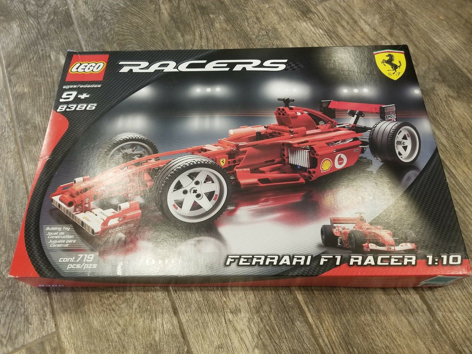 4 Lego Technic Wheels And Tire Ferrari F1 8386 Rader For Sale Online Ebay
