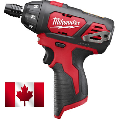 "Milwaukee 2401-20 12V M12  1/4"" Hex Screwdriver Tool Only"