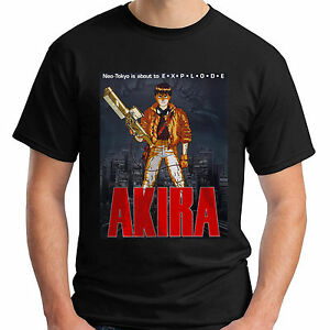 New Akira Neo Tokyo is about to Explode Men s Black T-Shirt Size S ... 876492e317