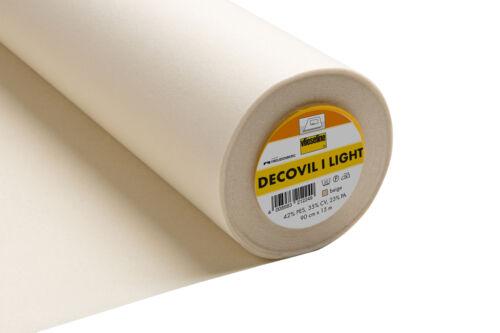 15x Decovil Light Beige 15mx90cm Sewing Craft Tool Hobby Art UK Bulk Filoro