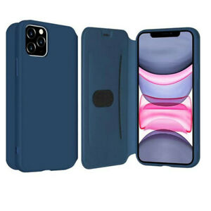 smooth-liquid-silicone-Leather-Wallet-Case-Flip-Cover-For-iPhone-6-7-8Plus-11-Pr