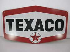 Texaco Gas Station Garage Repair Shop Retro Embossed Metal Tin Sign 16.5X10 in