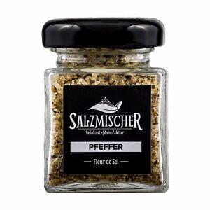 ( 14,14€/ 100g) 35g Fleur De Sel Salzmischung Pfeffersalz Fingersalz Épice Sel