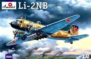 Amodel-72231-1-72-Night-Intruder-LI-2NB-Aircraft-scale-plastic-model-kit