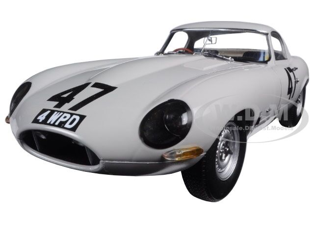 1963 JAGUAR LIGHTWEIGHT E-TYPE  COOMBS 4 WPD  1 18 DIECAST BY PARAGON 98341