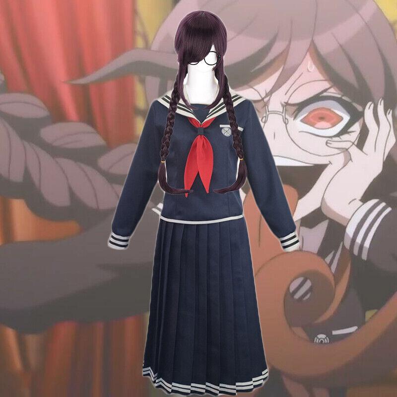 Danganronpa Dangan-Ronpa Toko Fukawa Uniform Cosplay Costume Dress Halloween
