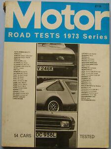 Motor-Road-Test-Annual-1973-Austin-Citroen-Fiat-Ford-Honda-Mazda-Clan-some-wear