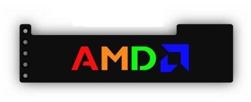 BLACK GPU Anti-Sagging Support Bracket GTX AMD NIVIDA RGB LED Backlit AMD
