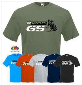 r 1200 gs t shirt motorcycles motorrad fans bmw ebay. Black Bedroom Furniture Sets. Home Design Ideas