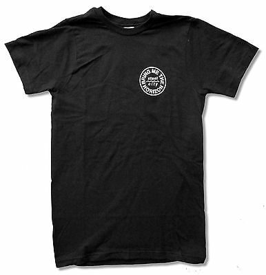 "BRING ME THE HORIZON ""SALVATION"" BLACK SLIM FIT T-SHIRT NEW OFFICIAL ADULT"