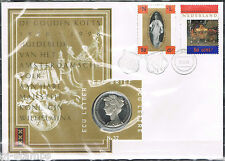 Nederland ECU-brief 32 100 jaar Gouden Koets - Koningin Wilhelmina