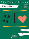 BigTime Piano, Level 4, Favorites by Faber Piano Adventures (Paperback / softback, 1998)