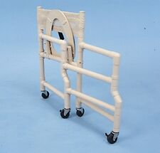 """HEALTHLINE MEDICAL -  #SCF6013 PVC SHOWER CHAIR 18"""" - ***FOLDING***"""