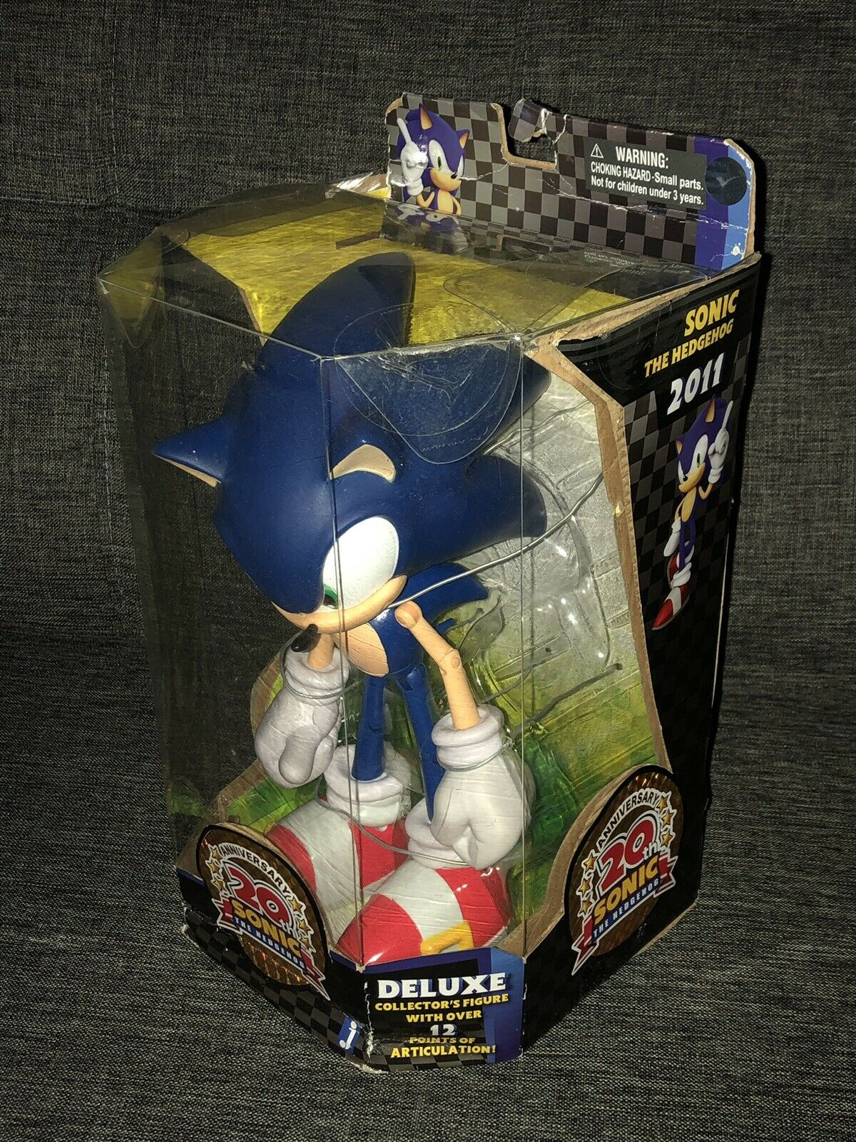 20th Anniversary Sonic the Hedgehog Exclusive Action Figure