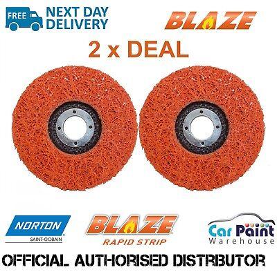 Sanding 115mm Diameter Price per disc. Surface Blending All-in one Blaze Rapid Strip for Grinding