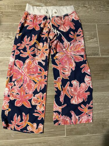 lilly pulitzer Linen Beach Pants Large