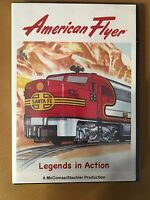 American Flyer Legends In Action Dvd By