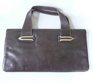 Epifanio-Torino-borsa-vintage-in-pelle-marrone-leather-bag-handbag-1970s