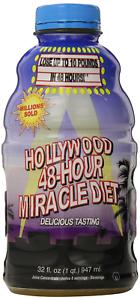 Hollywood Diet Herbal Clean 48-Hour Miracle, Diet Detox Formulation, 32 fl oz