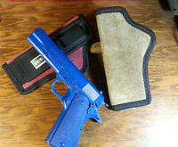 Ruger 1911 Tuckable Itp Iwb Carry Concealed Holster Leather