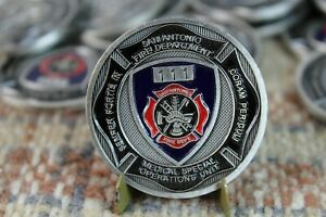 Fairfax County VA Fire /& Rescue Special Operations Division Challenge Coin