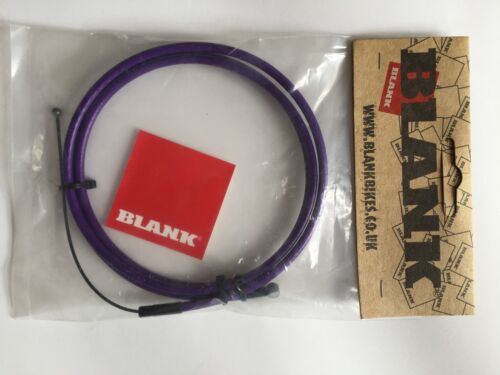 Blue Brand New Blank Linear BMX Brake Cable