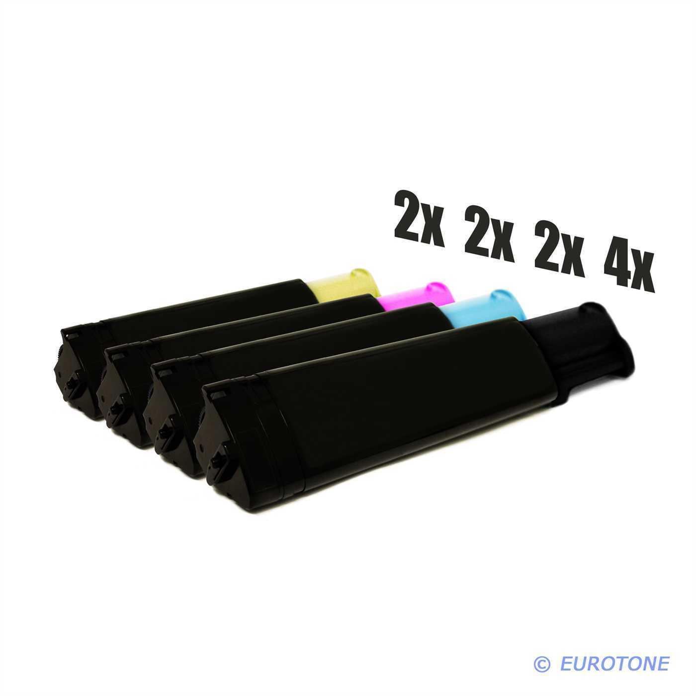 10x 10x 10x Eurotone Toner für Epson Aculaser CX-11-N CX-11-NFCT CX-11-NFC C-1100-N b35417