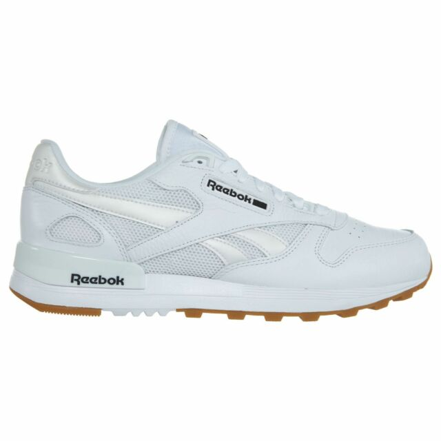 Reebok Classic Leather 2.0 Mens BS9004 White Black Gum Athletic Shoes Size 11.5