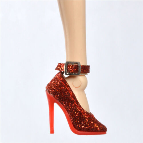 shoes for Ob Obitsu Fashion royaltyⅡ  FR2 poppy parker doll Red highlight
