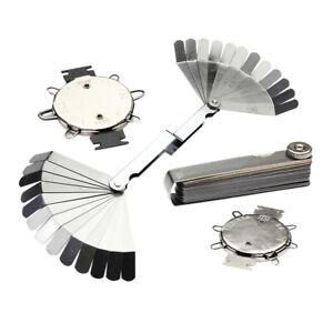 Laton-Acero-4Pcs-26-y-36-Feeler-Gauge-Bujia-medida-brecha-Juego-de-herramientas