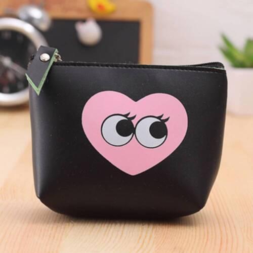 Fashion Cartoon Portable Mini Small Pu Leather Coin Purse Lady Bag Money Wallet