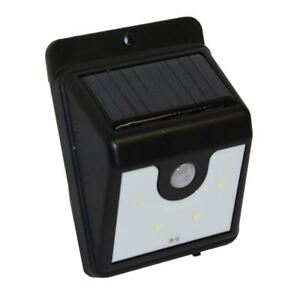 Out Door Wall Mounted Ever Bright Motion Activated Solar