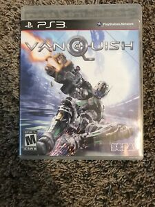 Vanquish-Sony-PlayStation-3-PS3-2010-CIB-Complete-Tested