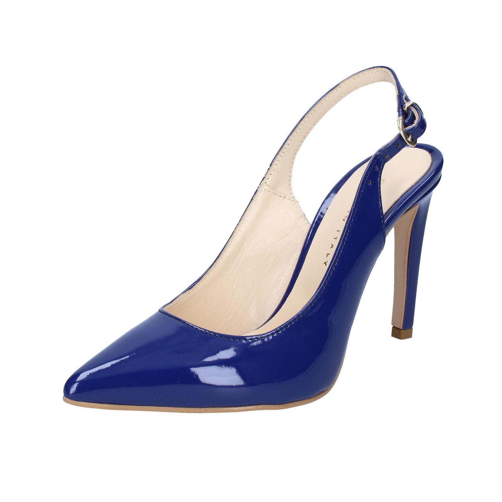vendita online Scarpe donna OLGA RUBINI RUBINI RUBINI 39 EU decolte blu vernice BS94-39  design semplice e generoso